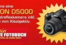 Gewinne eine Nikon D5000 Spiegelreflexkamera