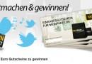 Gewinne einen von 5 Shopping-Gutscheinen im Wert von 100 €