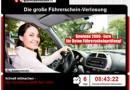 Die große Führerschein-Verlosung