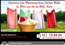 Waschmaschinen-Verlosung