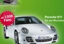 Gewinne einen Porsche 911 für ein Wochenende