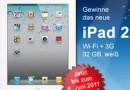 Gewinne ein Apple iPad 2 in weiß